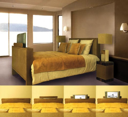 Super Cool Bed With Built In Tv Impact Lab