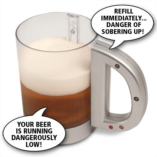 Talking Beer Mug